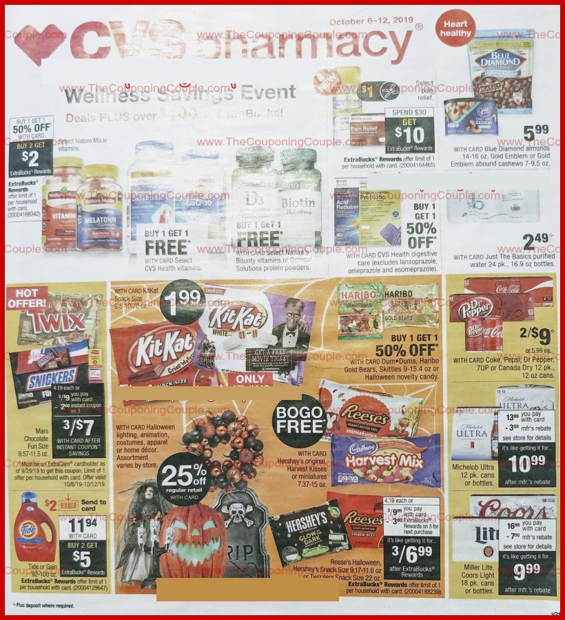 cvs weekly ad preview oct 6 2019