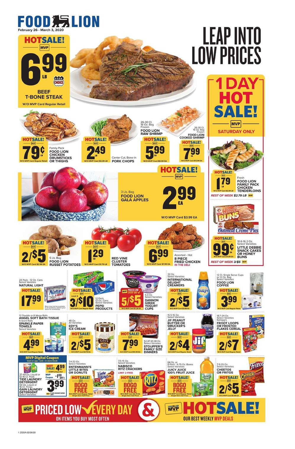 food lion weekly ad feb 26 2020