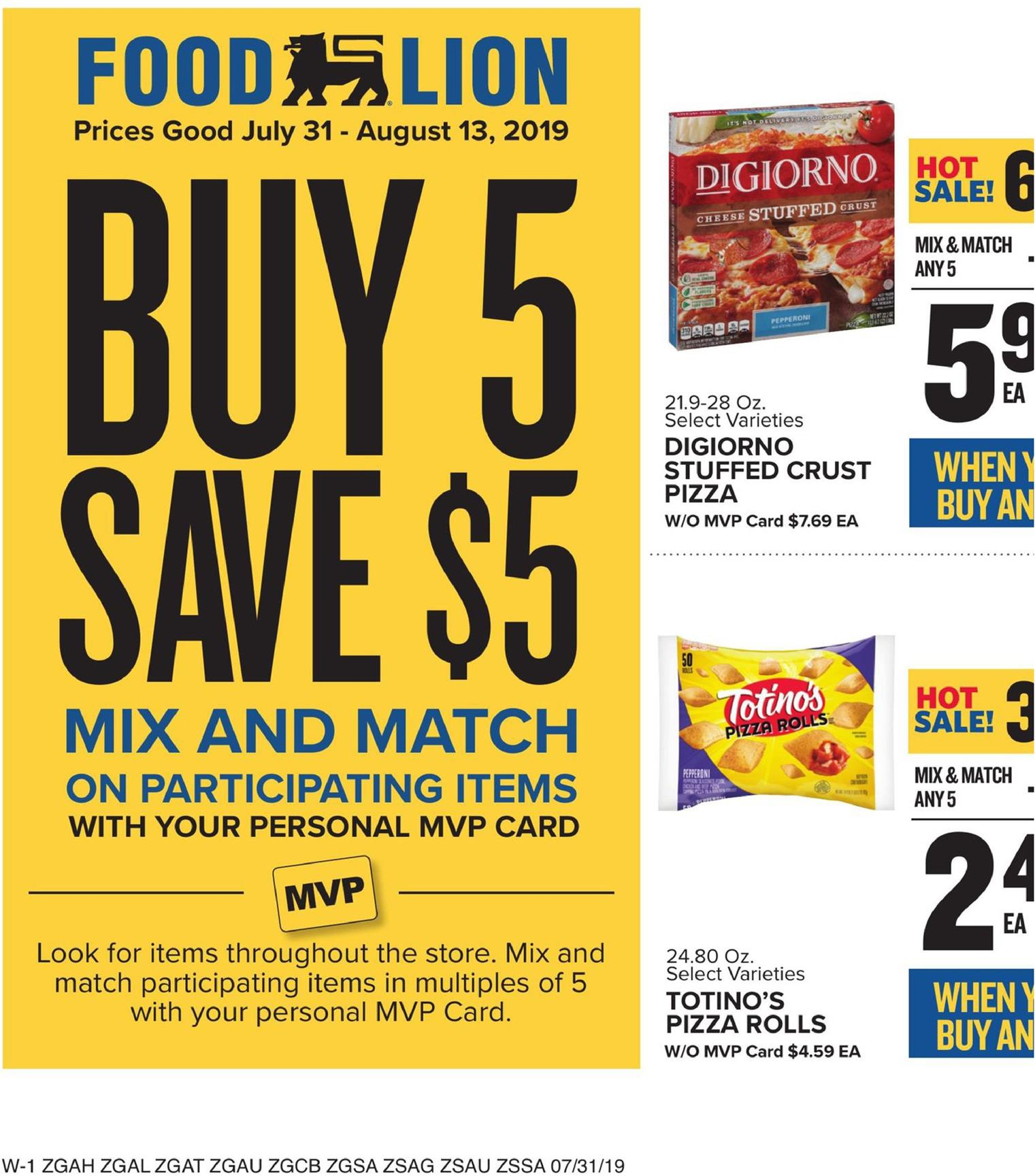Food Lion Weekly Ad Jul 31 - Aug 6, 2019 (Page 11)