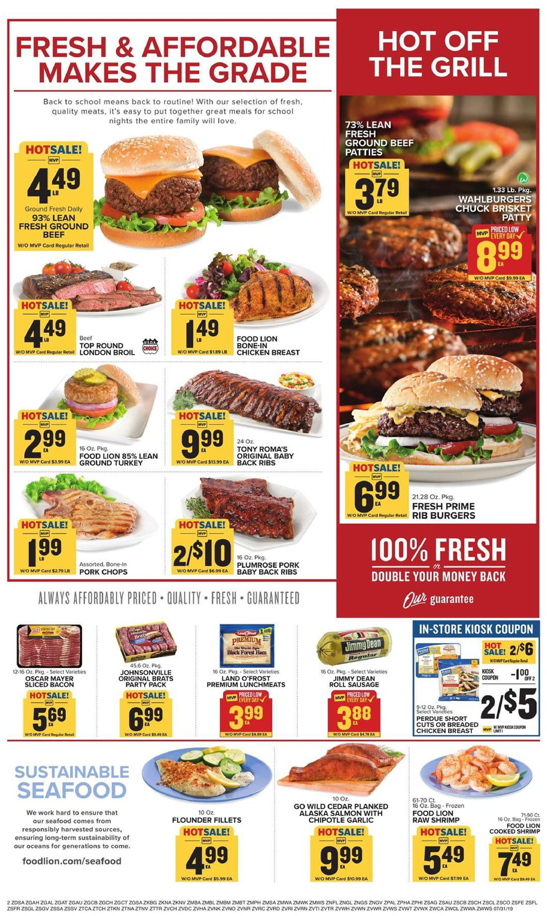 Food Lion Weekly Ad Jul 31 - Aug 6, 2019 (Page 2)