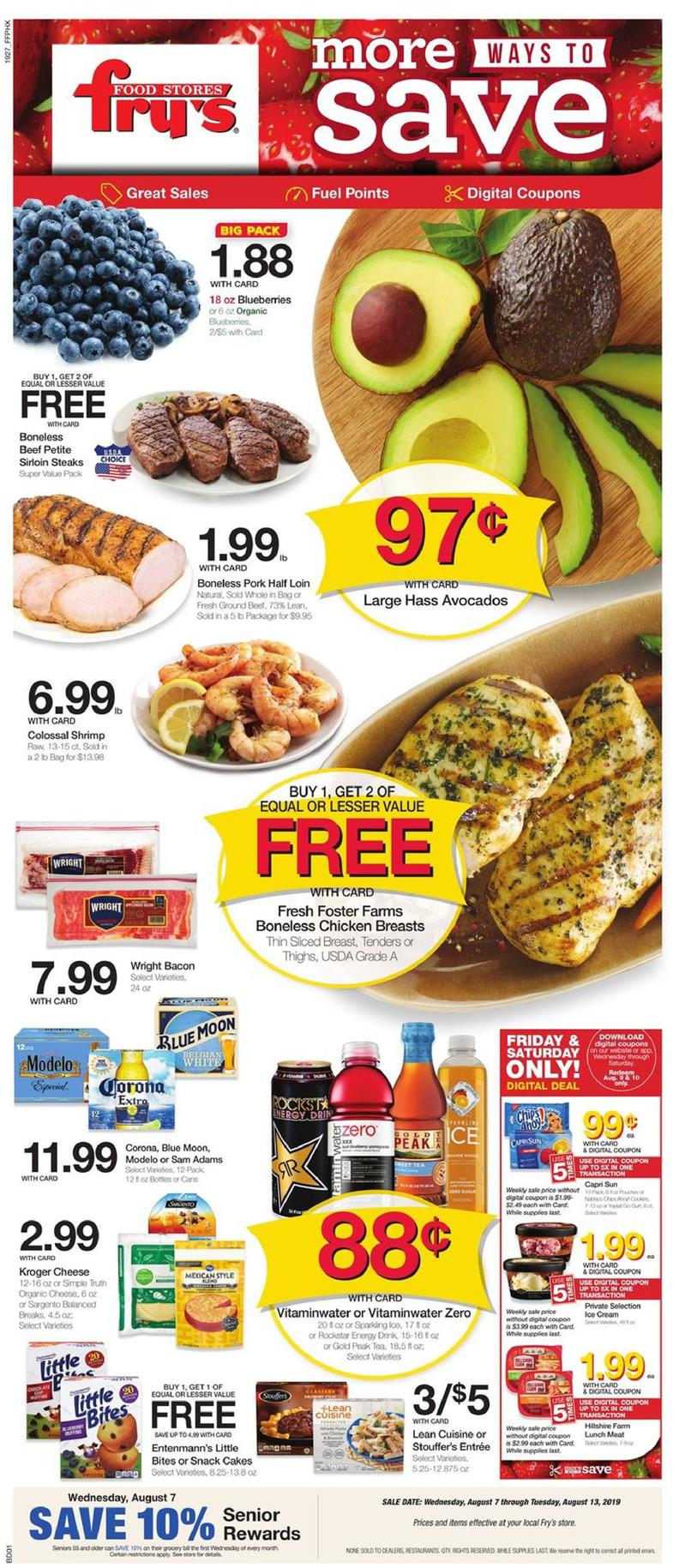frys weekly ad aug 7 2019