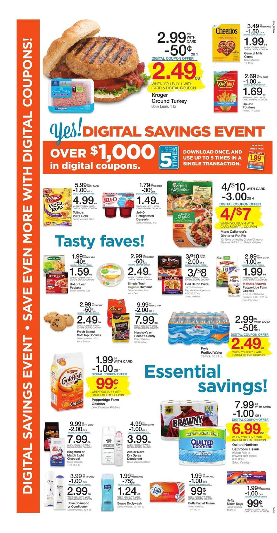 frys weekly ad august 9 2017