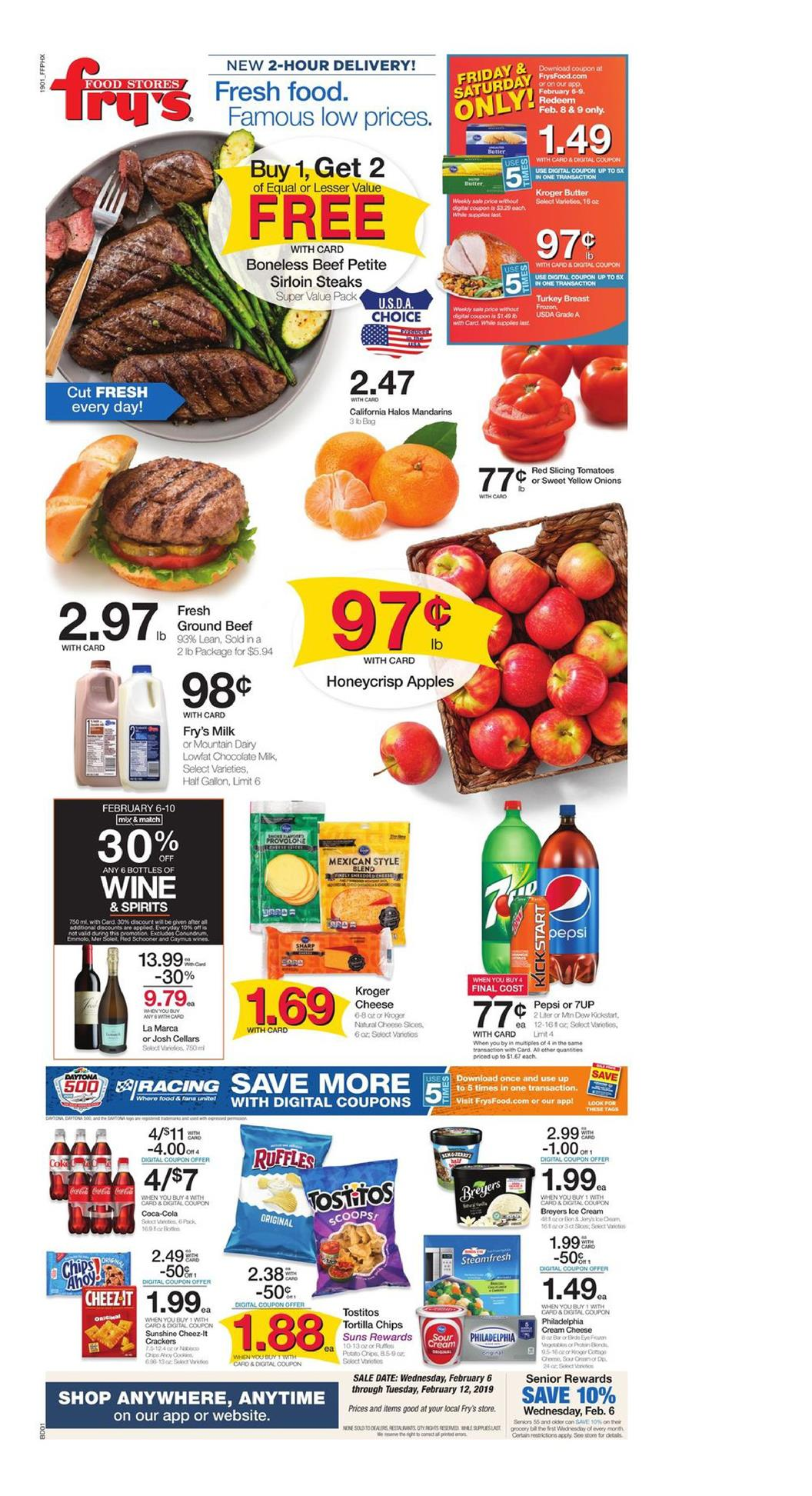 frys weekly ad feb 6 2019