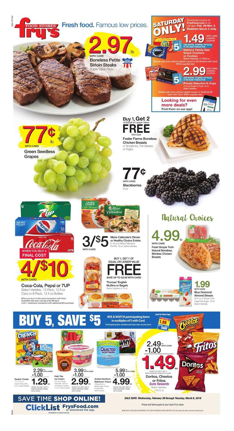 Fry S Food Weekly Ad