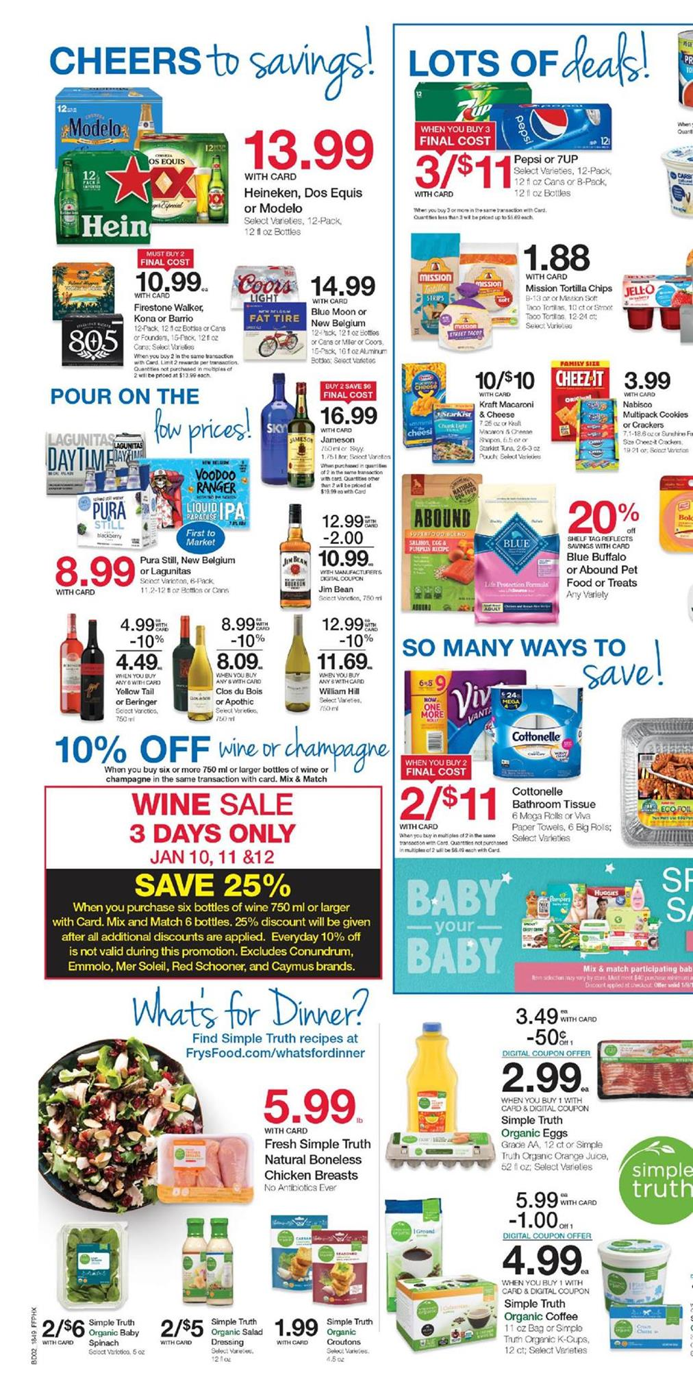 frys weekly ad jan 9 2019
