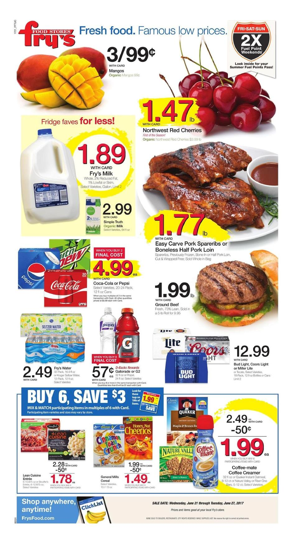 Fry's Food Stores, Tolleson, AZ. K likes. Fresh Food. Famous Low Prices. LIKE us for special offers, digital coupons, community updates, recipes and more.