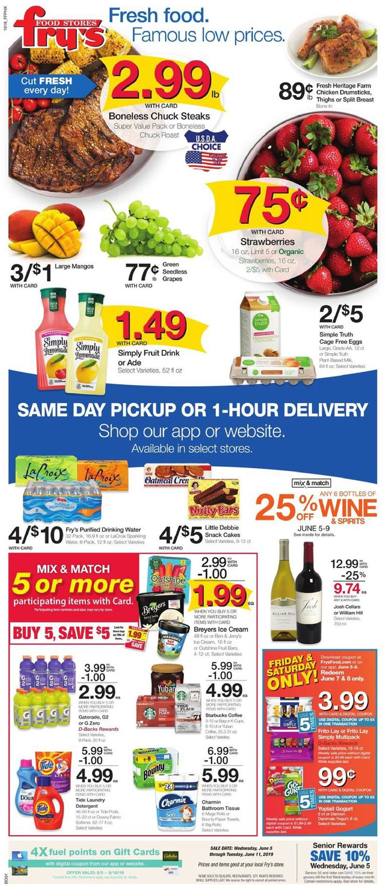 frys weekly ad jun 5 2019