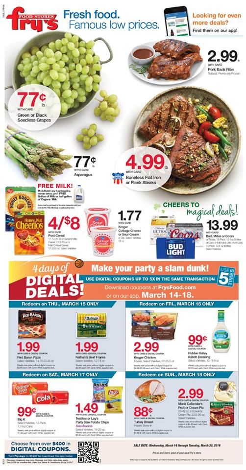 frys weekly ad march 14 2018