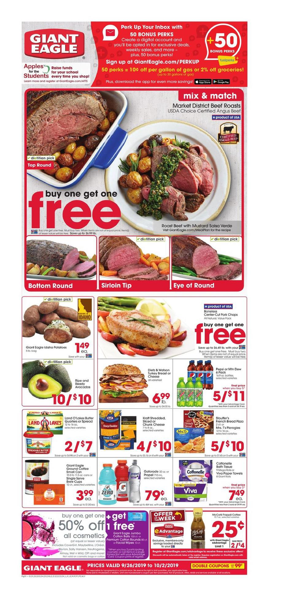 Giant Eagle Coupon Policy