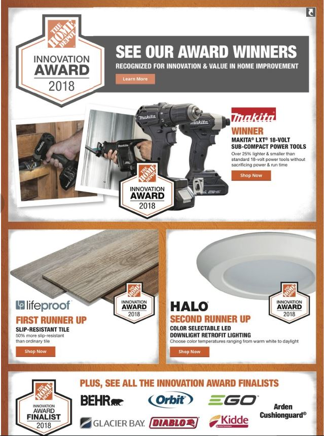 Home Depot Weekly Ad Mar 14 - 25, 2019