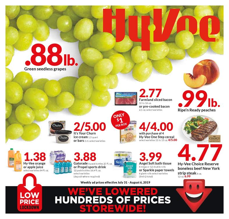 hyvee weekly ad jul 31 2019