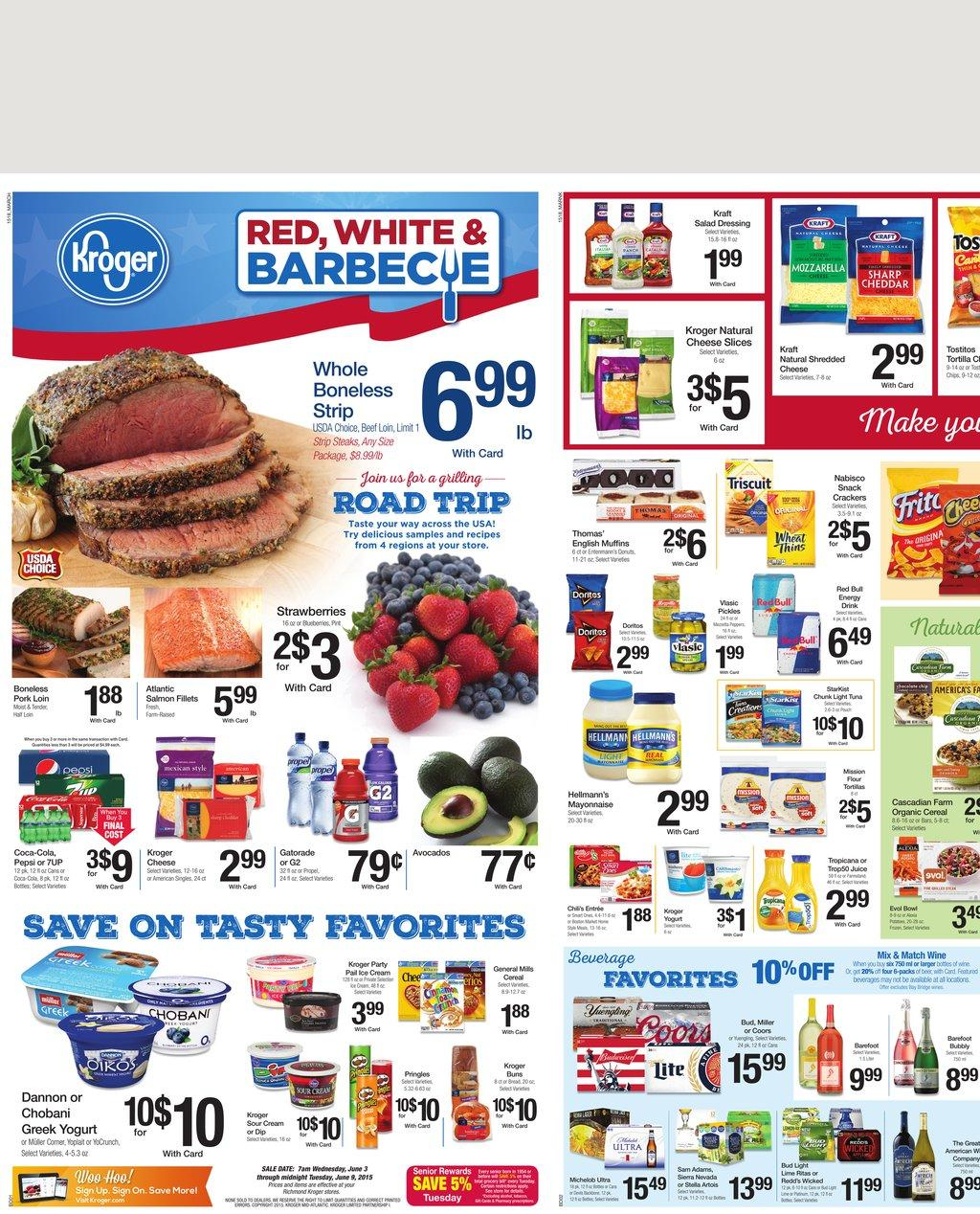 kroger ad preview 6 3 2015 barbecue