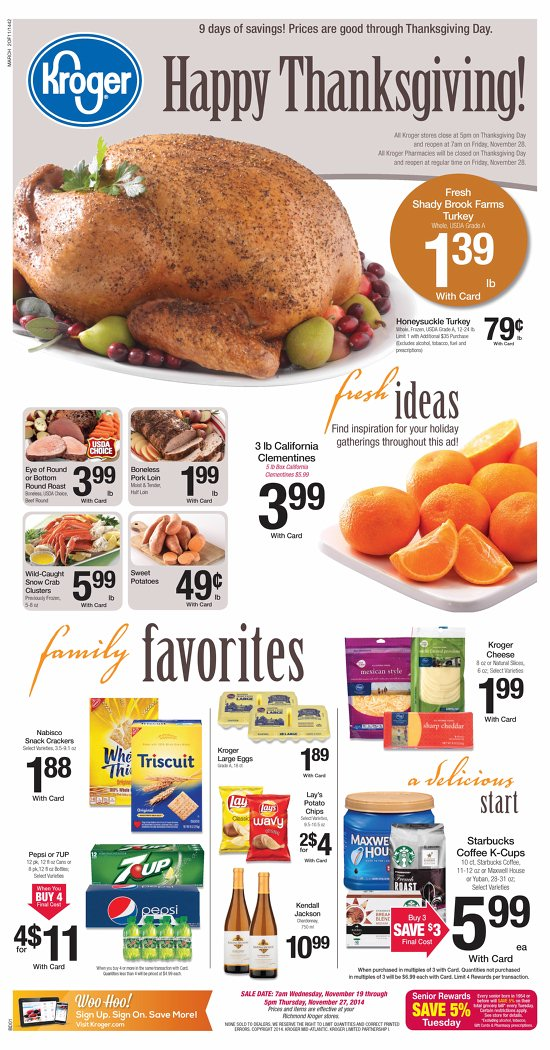 kroger deli products