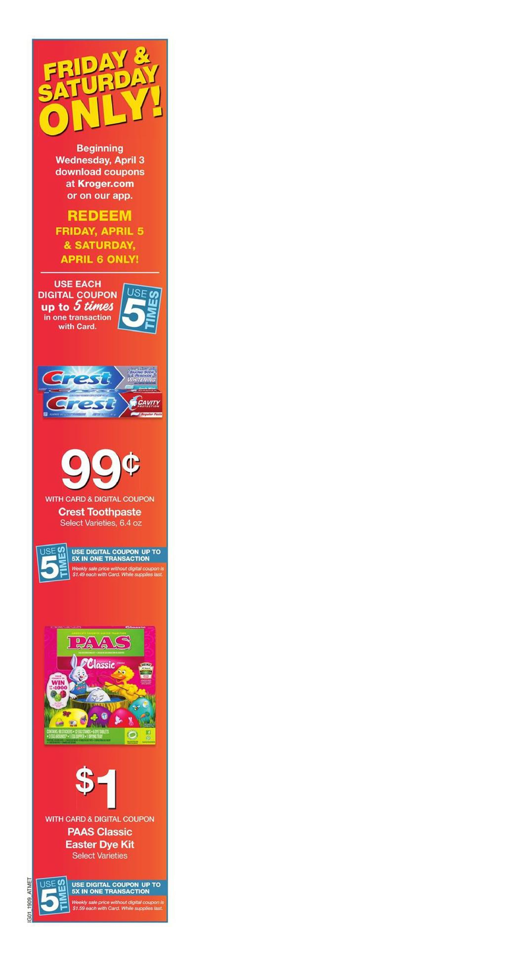 kroger weekly ad apr 3 2019