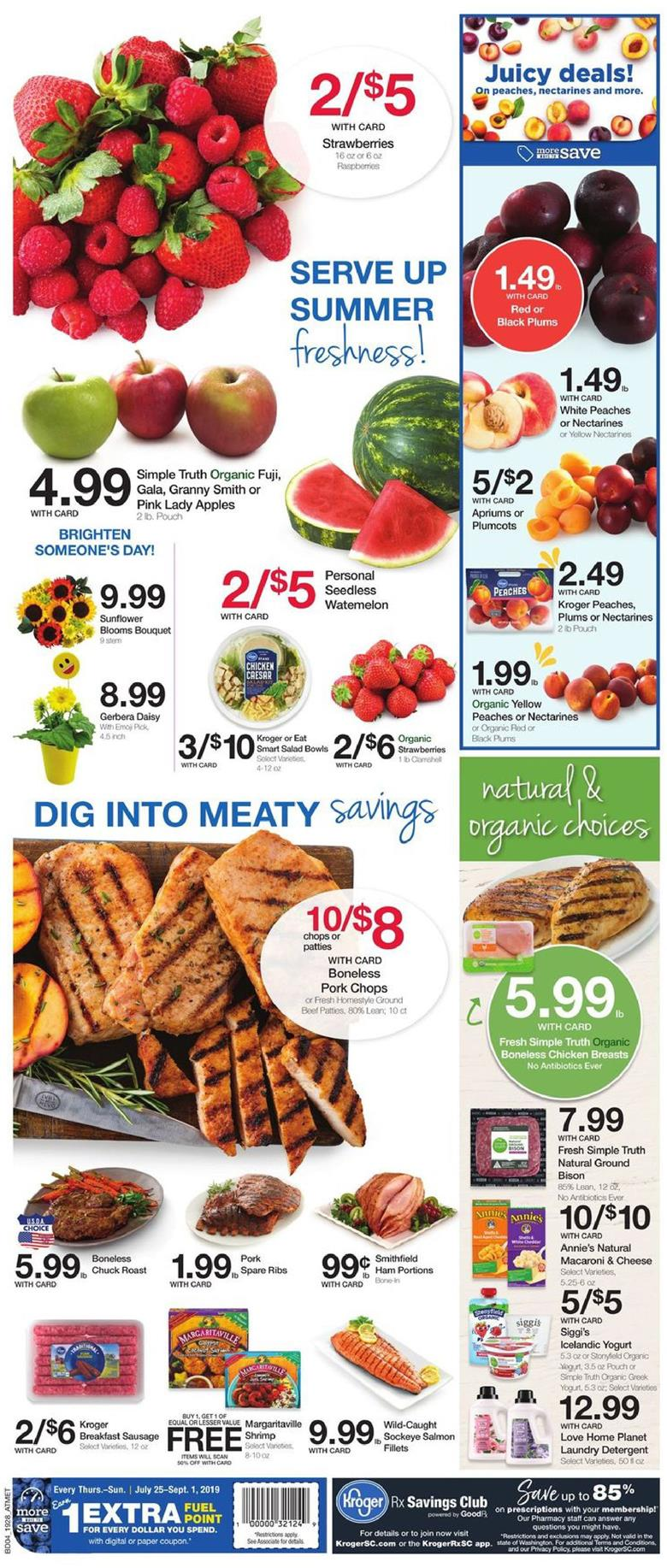 kroger weekly ad aug 14 2019