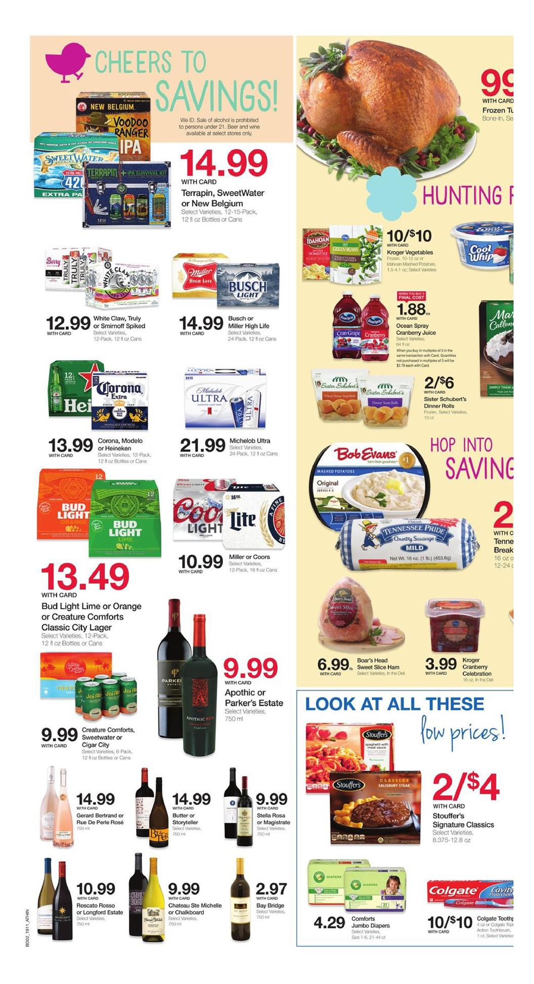 kroger weekly ad easter apr 17 2019