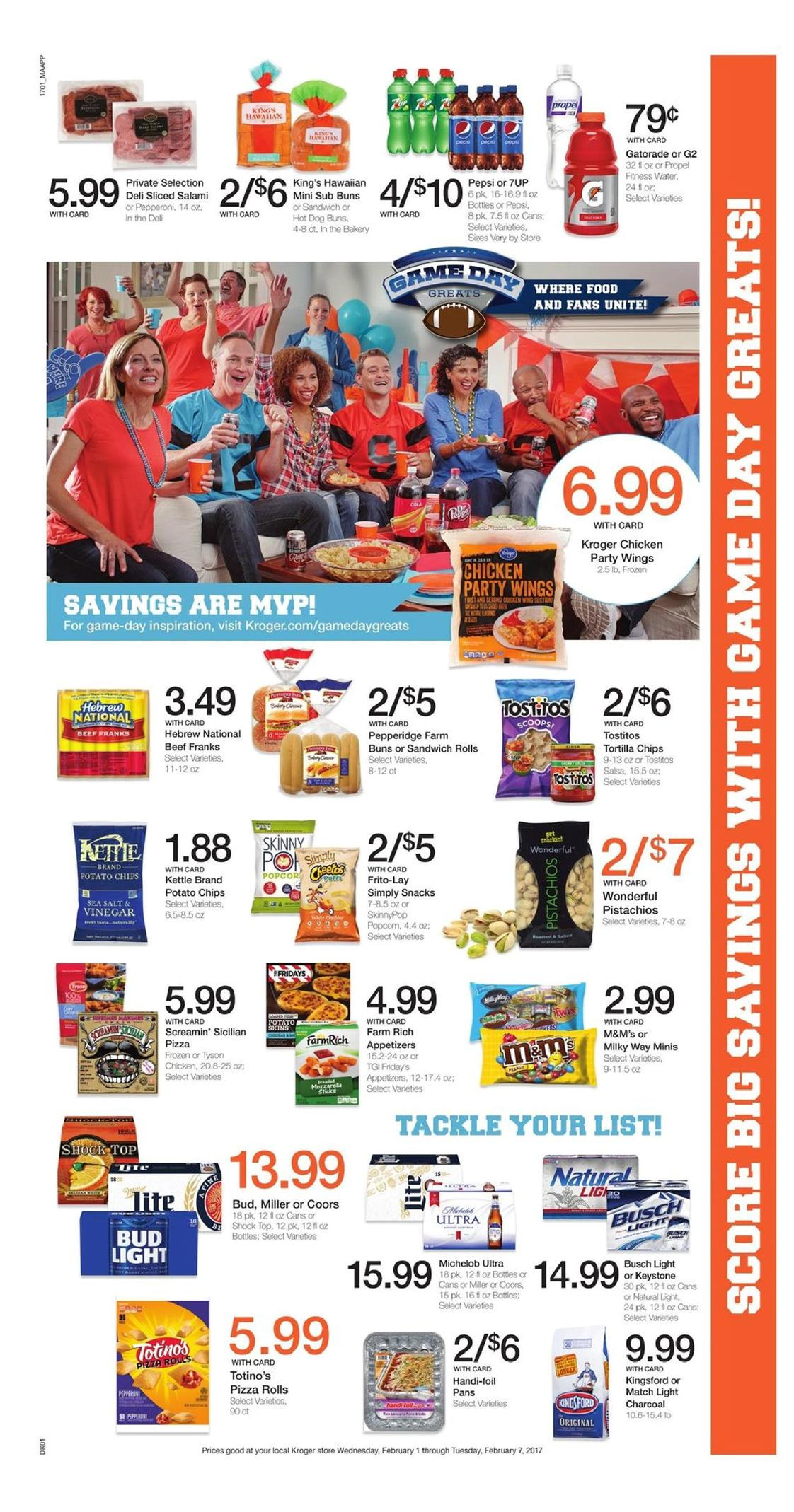 kroger weekly ad february 1 2017
