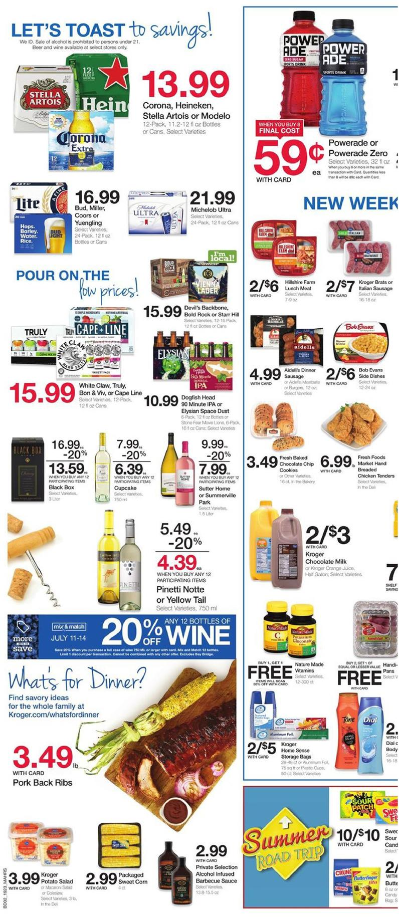 kroger weekly ad jul 10 2019