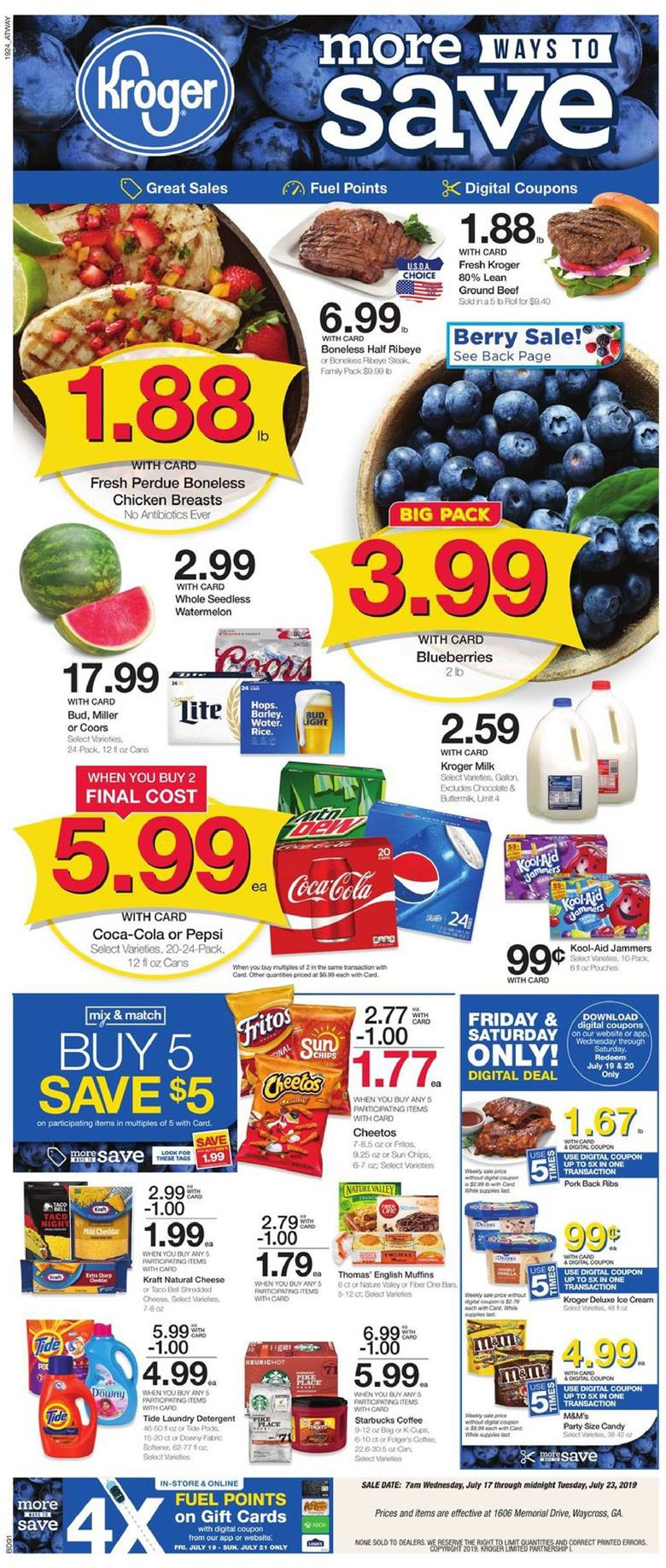 kroger weekly ad jul 17 2019