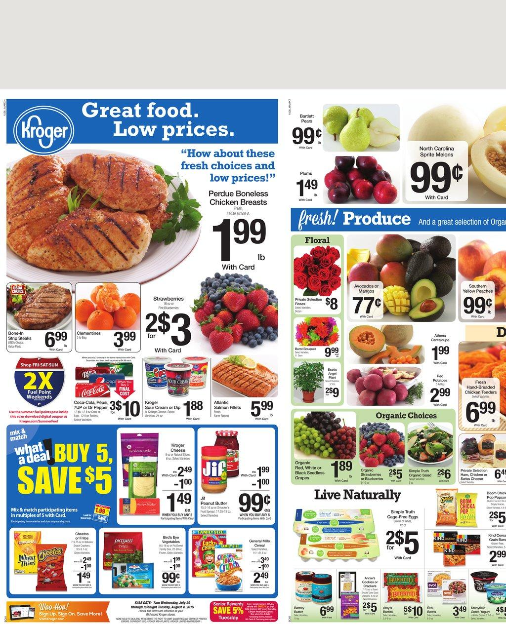 kroger sales paper Ingles online weekly ads interactive ads view images of our interactive weekly ads make and print out a shopping list text-only ads view our text-only ads for those with dial-up or a slow connections non-interactive ads view images of our weekly ads note: if you cannot see the ads, please read this note.