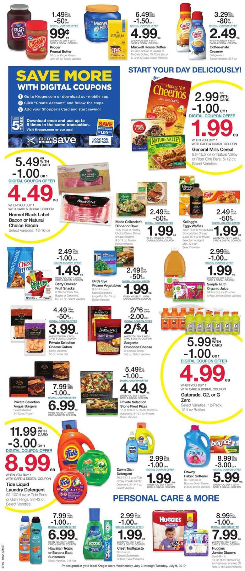 kroger weekly ad jul 3 2019