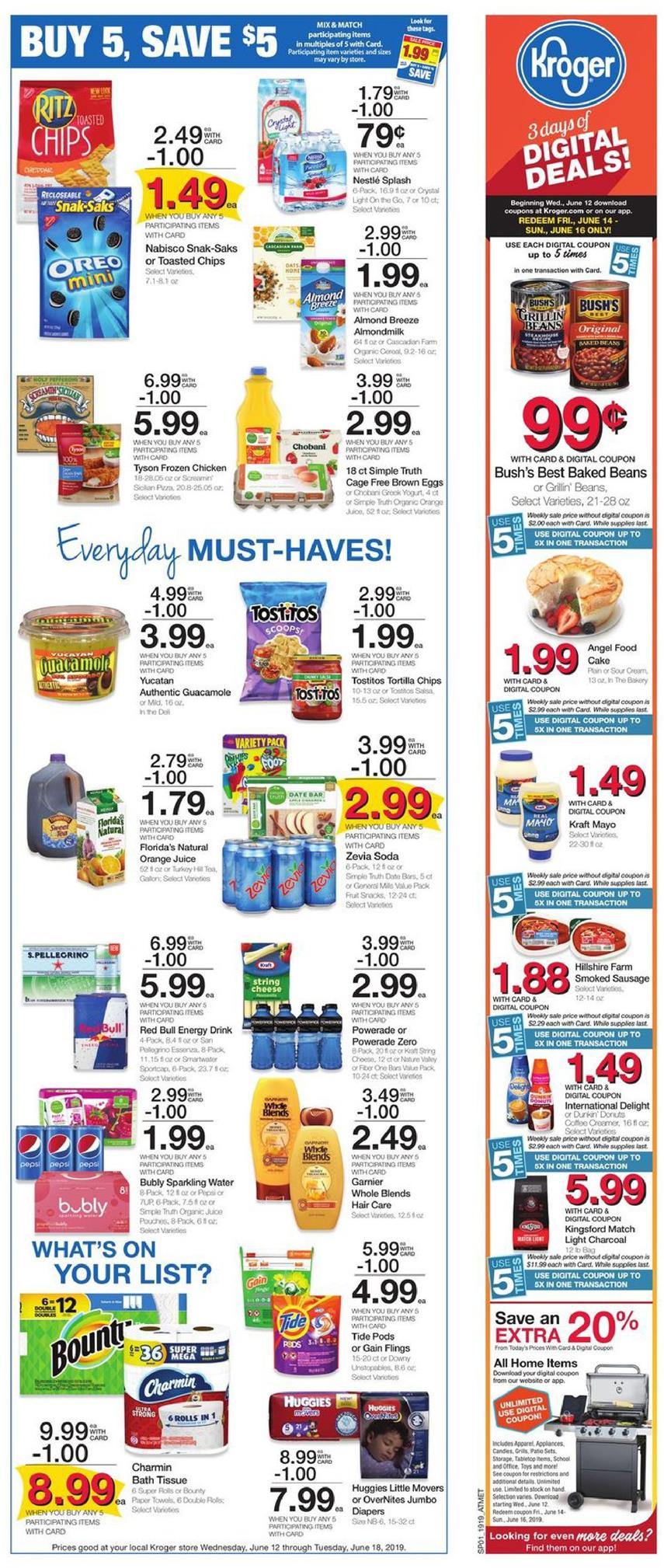 kroger weekly ad jun 12 2019