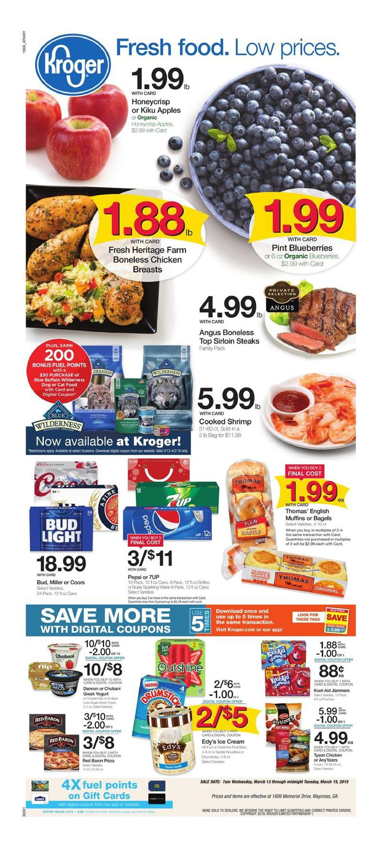 kroger weekly ad mar 13 2019