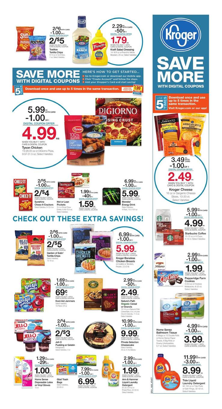 kroger weekly ad march 7 2018