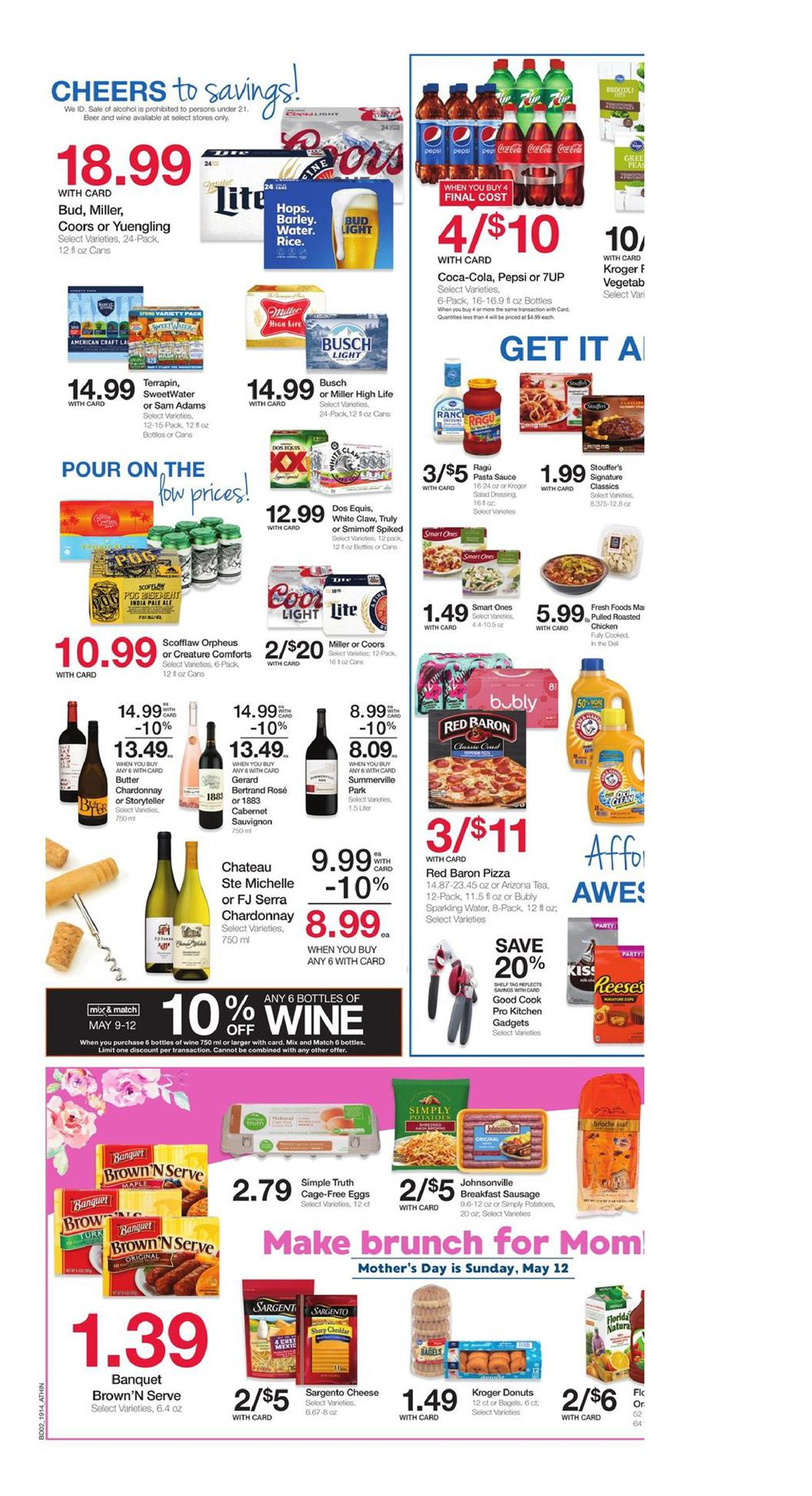 kroger weekly ad may 8 2019