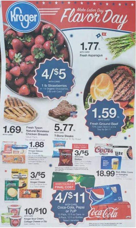Kroger Weekly Ad Preview Aug 28