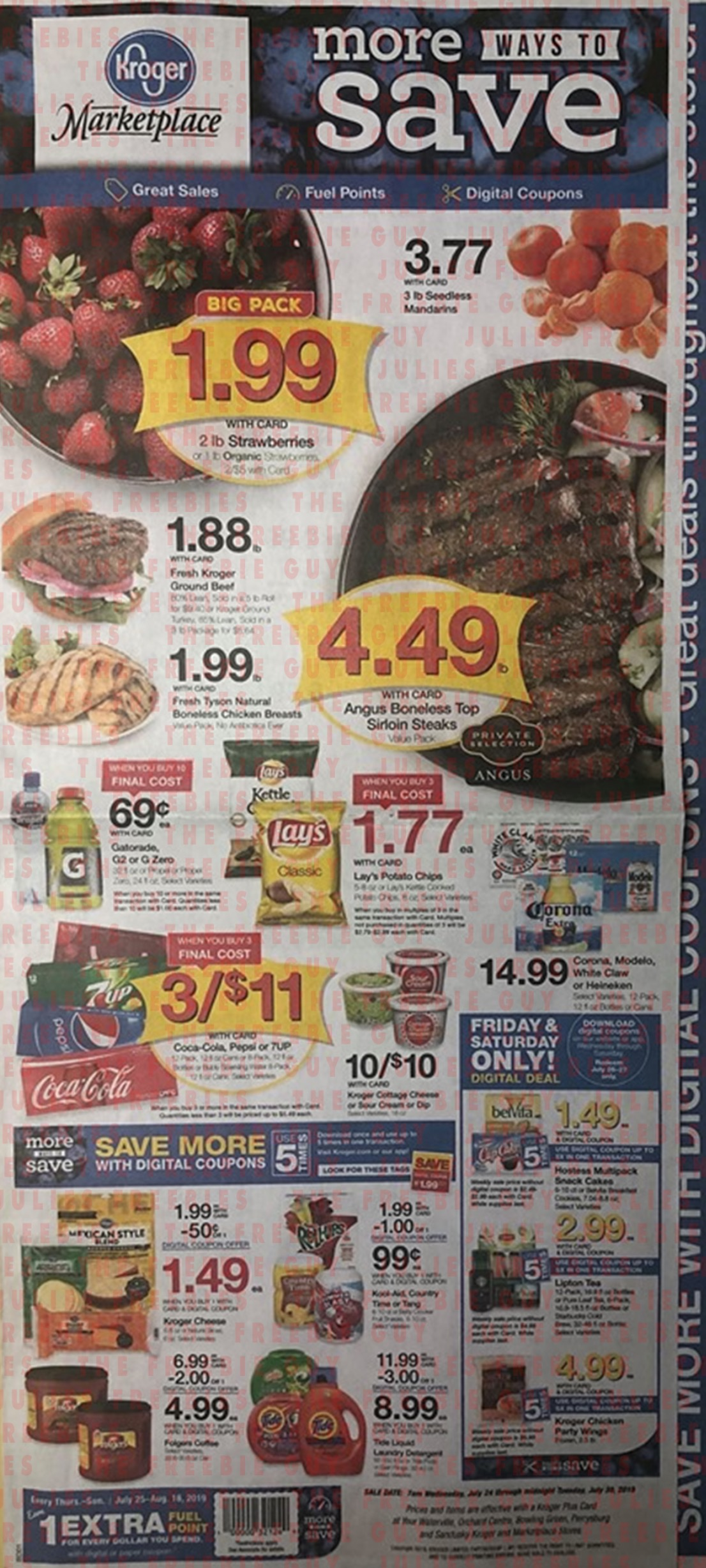 kroger weekly ad preview jul 24 2019