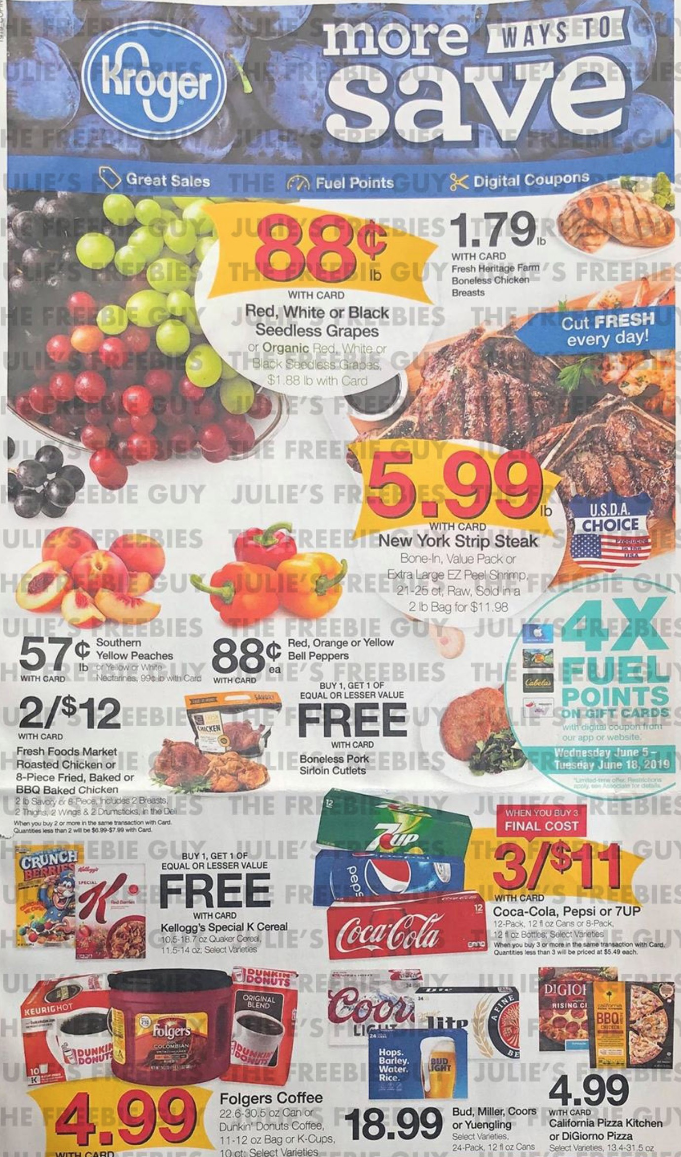 kroger weekly ad preview jun 12 2019