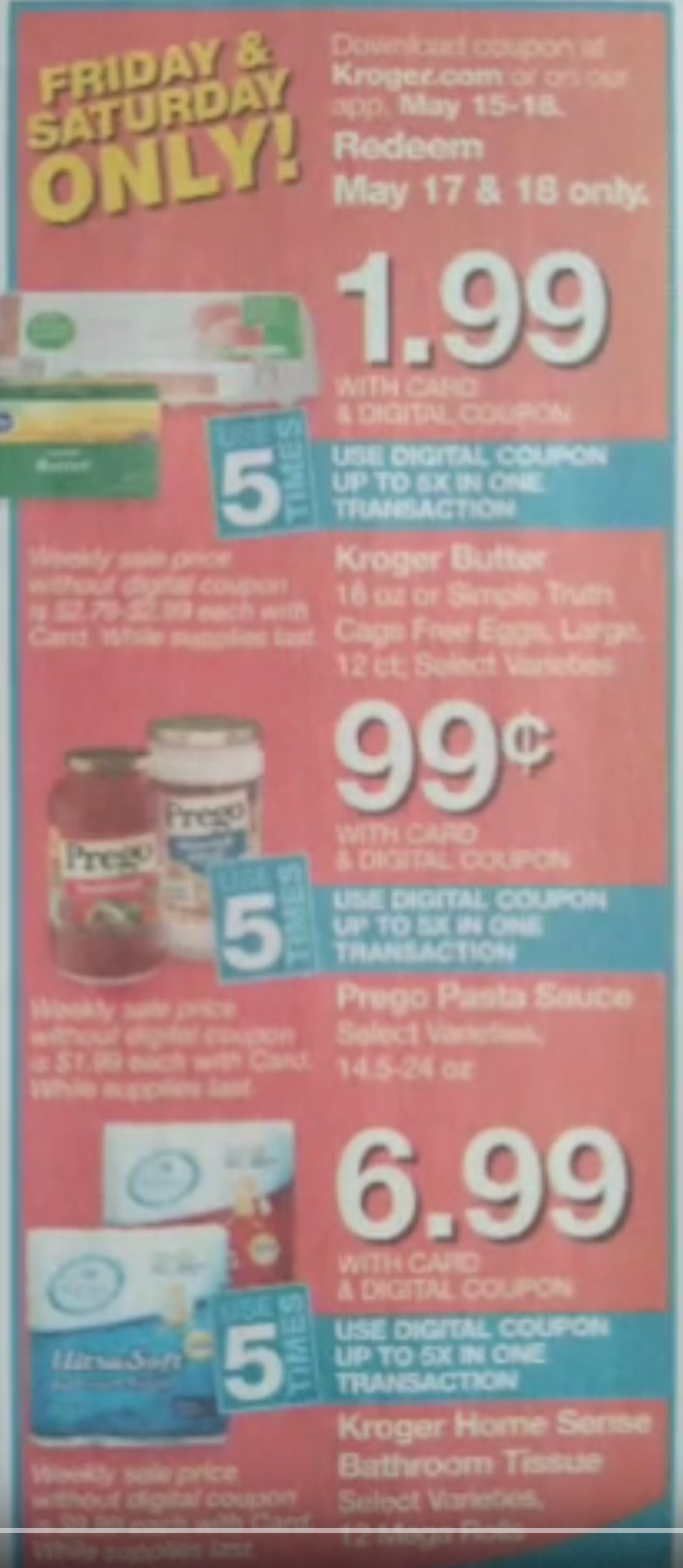 kroger weekly ad preview may 15 2019