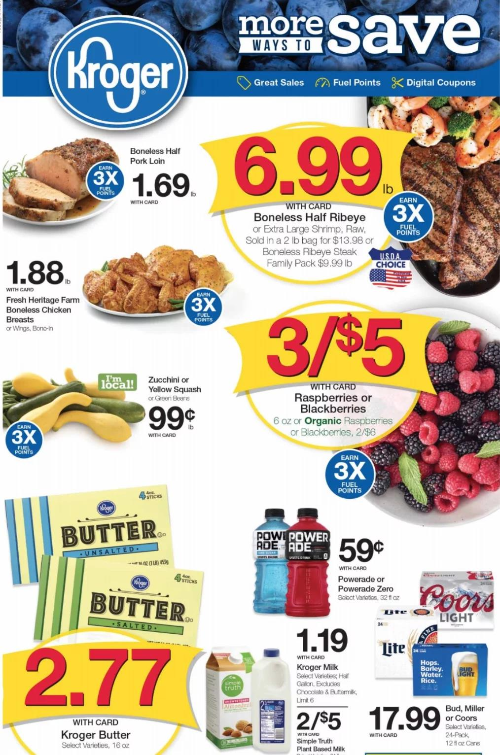 Cvs Pharmacy Coupons >> Kroger Weekly Ad Preview Oct 30 - Nov 5, 2019