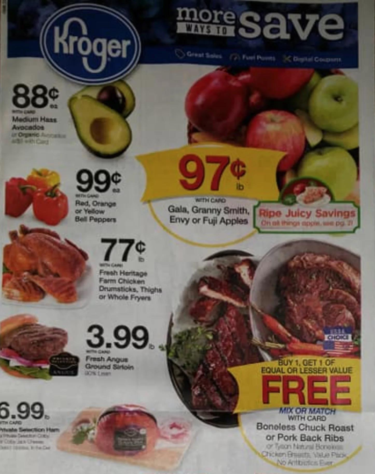 kroger weekly ad preview oct 9 2019