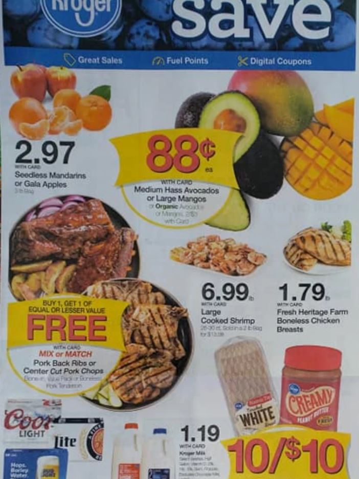 Kroger Christmas Hours 2019.Kroger Weekly Ad Preview Sep 4 10 2019