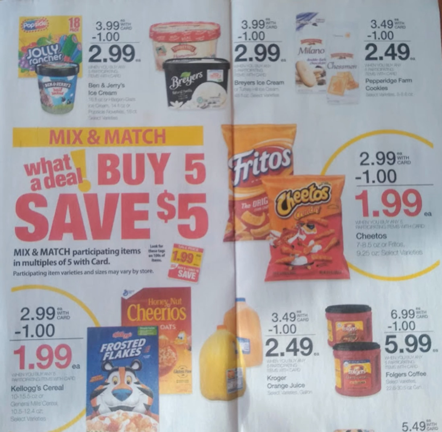 kroger weekly ad scan may 8 2019