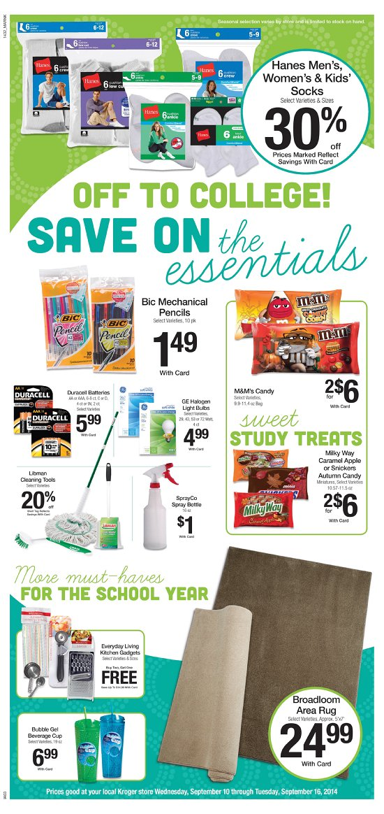 latest kroger ad promotions sneak peek