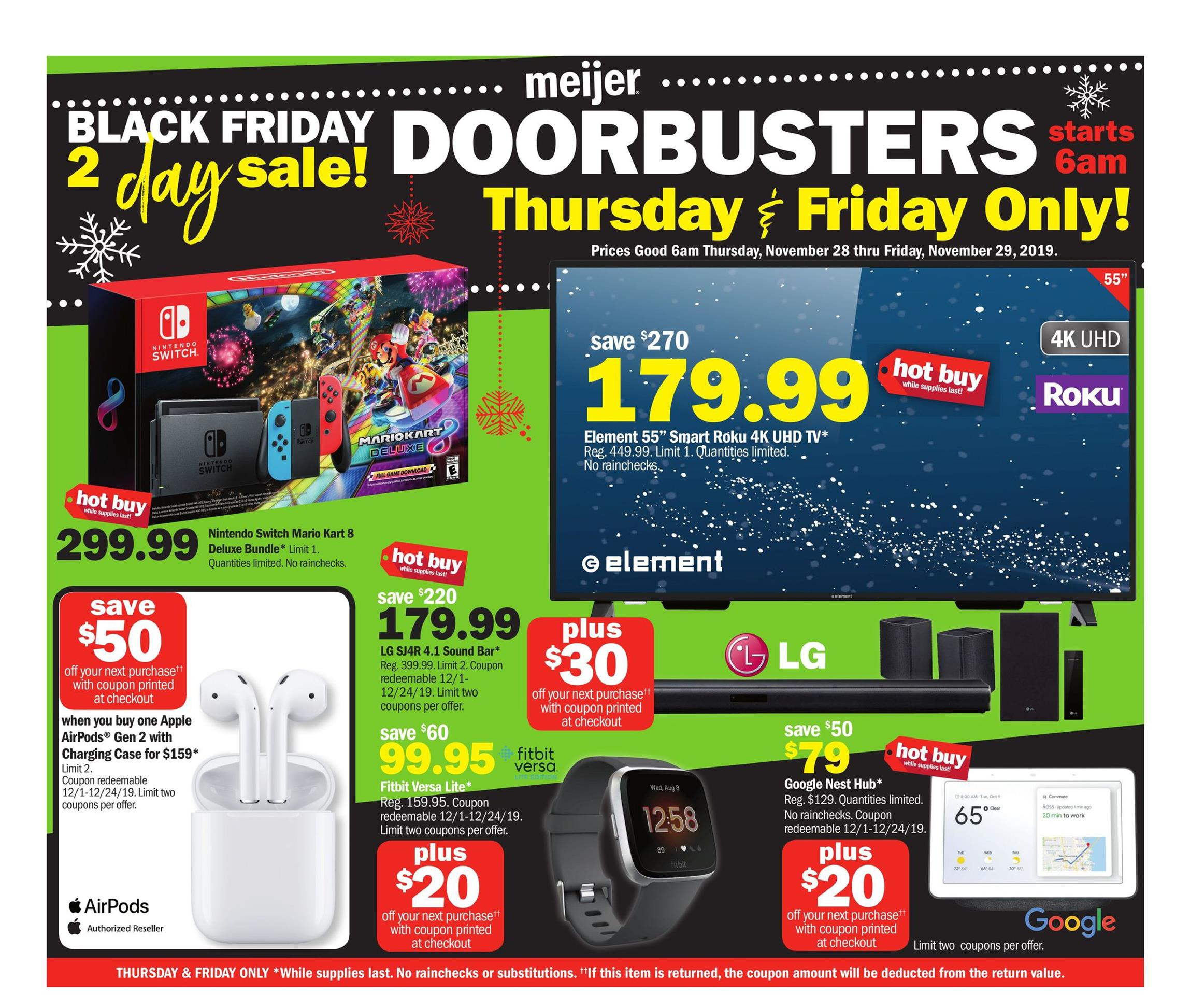 Meijer black friday ad