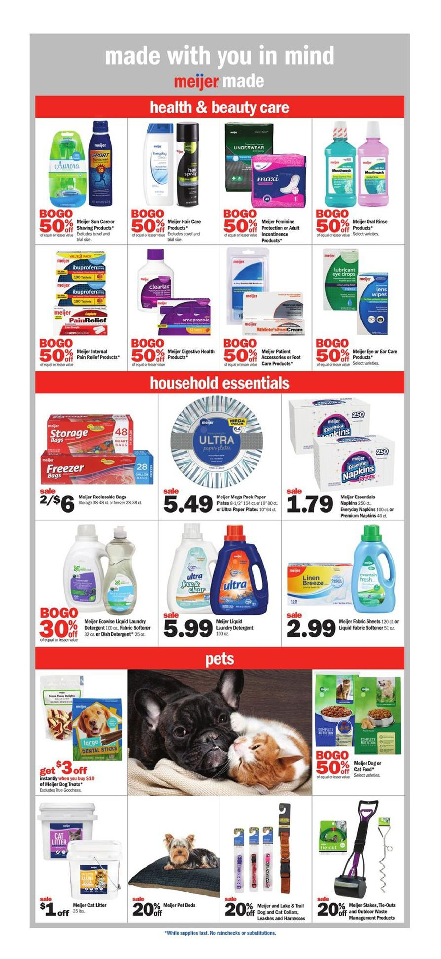 meijer weekly ad aug 11 2019