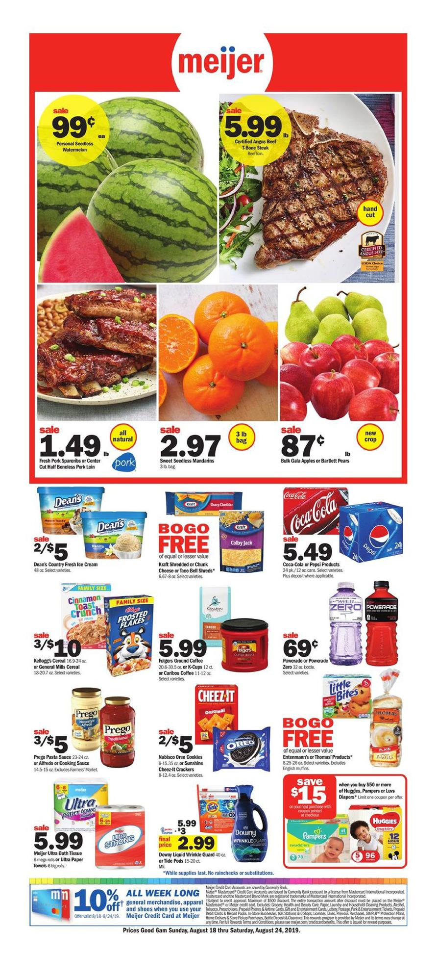 meijer weekly ad aug 18 2019