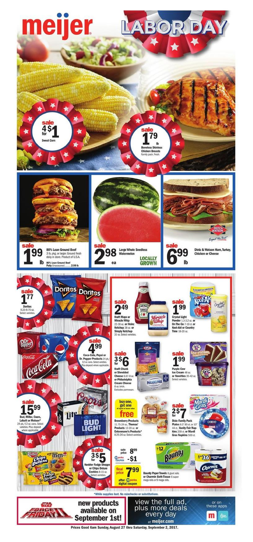 meijer weekly ad august 27 2017