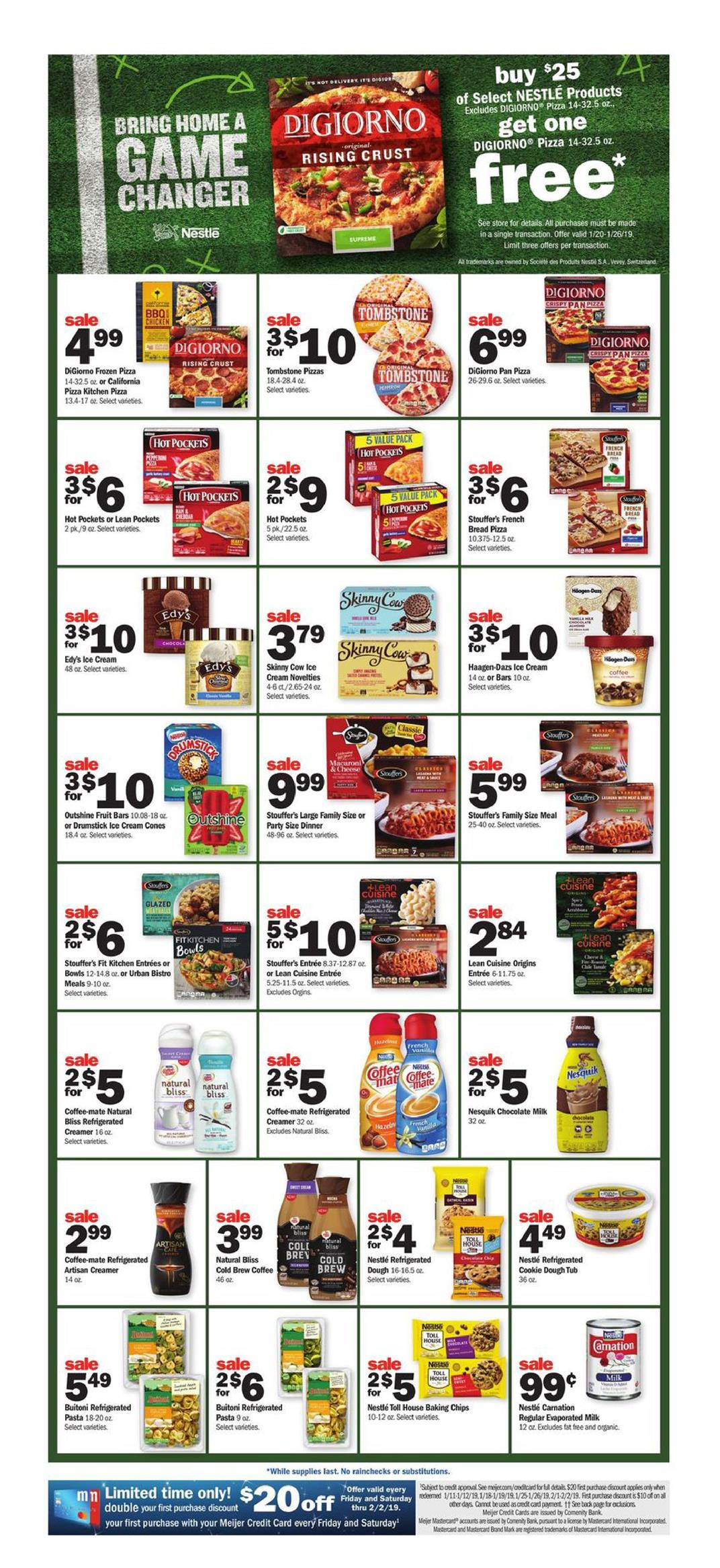 meijer weekly ad jan 20 2019