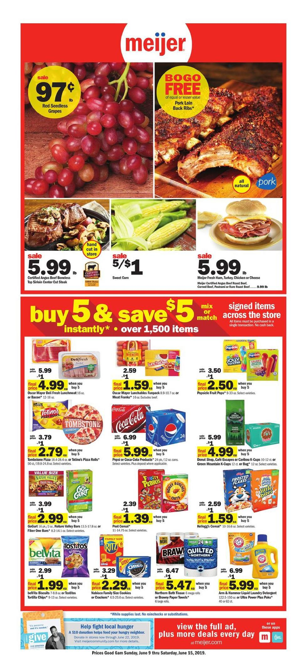 meijer weekly ad jun 9 2019