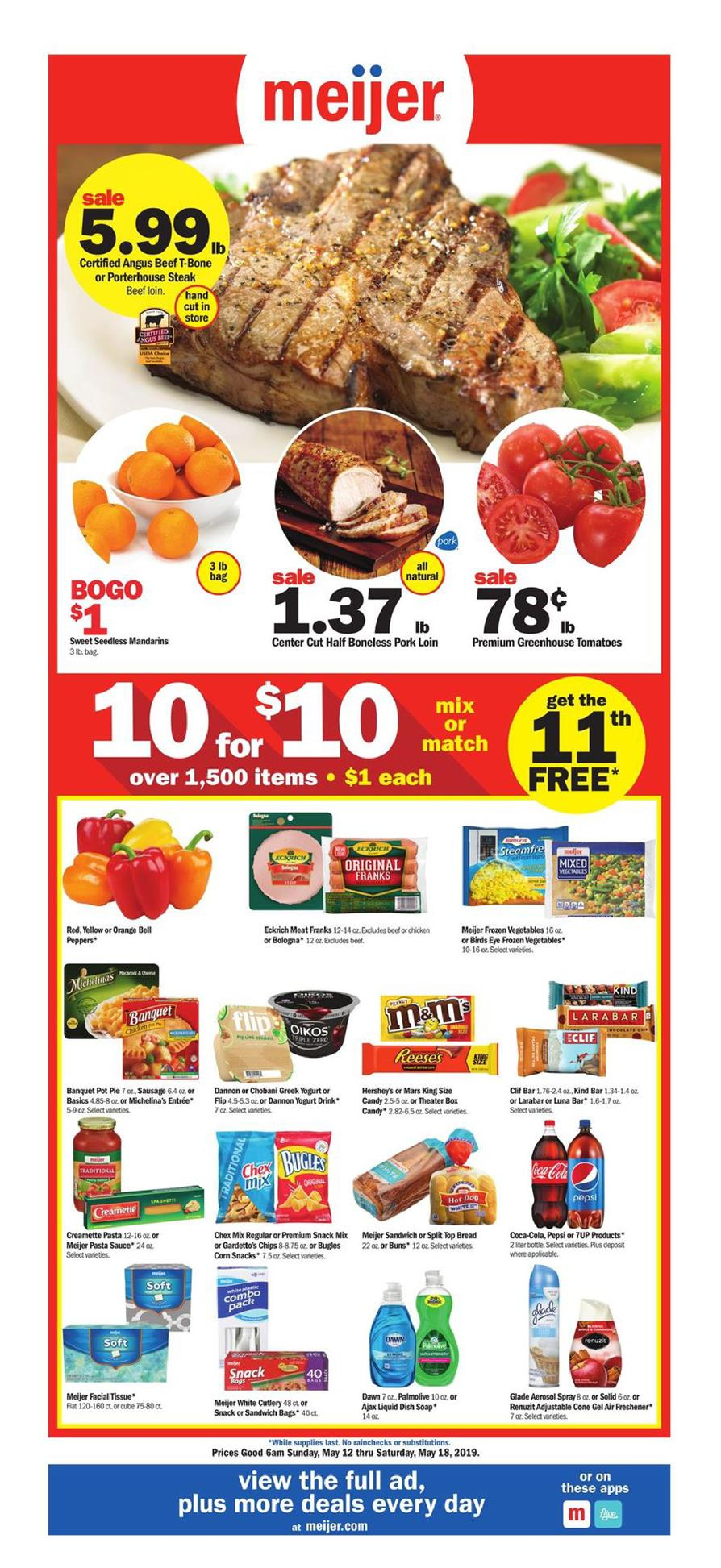 meijer weekly ad may 12 2019