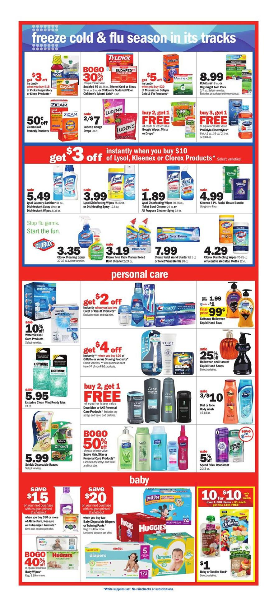 meijer weekly ad oct 6 2019