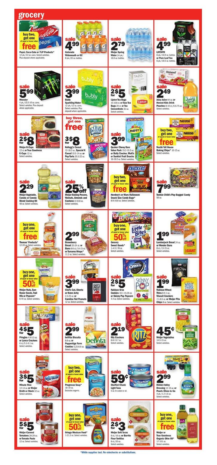 meijer weekly ad sep 16 2018