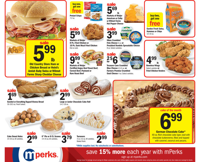 meijer weekly ad sep 27 2015