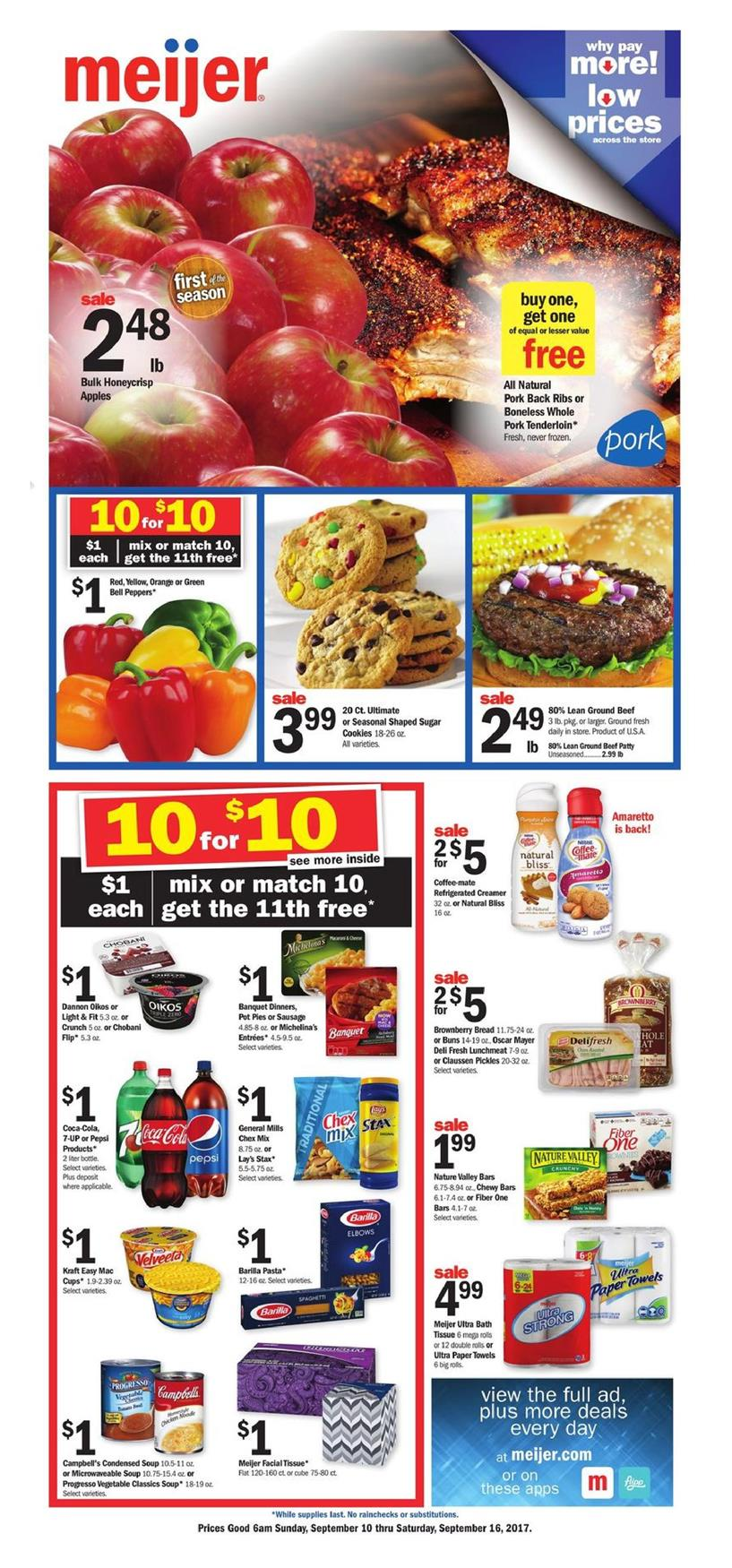 Meijer Weekly Ad Sep 10 16 2017