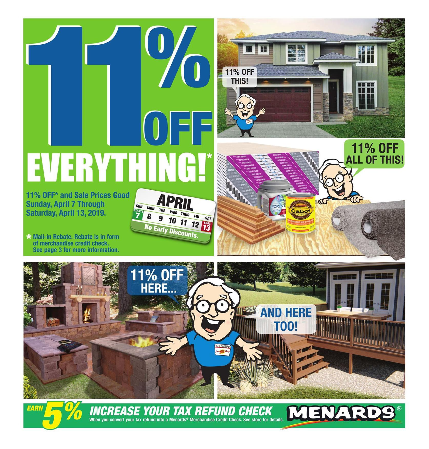 Anna besso nova : Menards 11 rebate may 2019